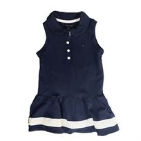 TOMMY HILFIGER שמלה (18 חודשים- 4 שנים) - כחול כהה