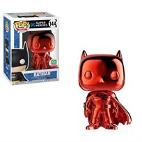 Funko Pop -Batman Red Chrome Limited (Dc Super Heroes) 144 בובת פופ