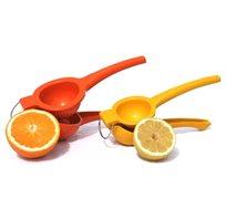 מסחטת תפוזים ולימונים עשוייה מאלומניום קשיח