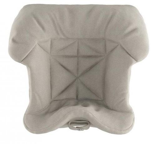 כרית ריפוד לכיסא אוכל טריפ טראפ עם בייבי קיט 100% כותנה אורגנית - אפור Timeless