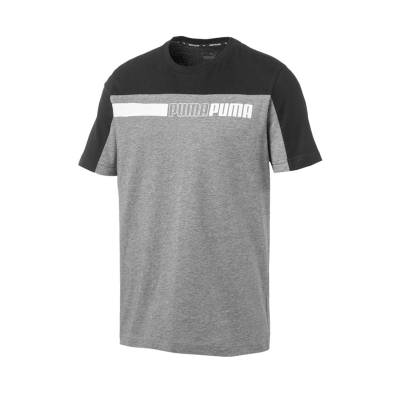 חולצת טי דגם L85419403 לגברים - אפור