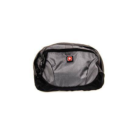 פאוץ' סוויס דגם CBC1 MORCOTE GREEY - אפור/שחור