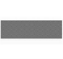 ראנר מגן חום לשולחן האוכל דגם גיאומטרי אפור