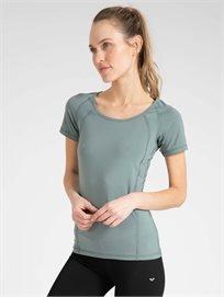 Arena נשים // חולצת אירובי ירוק זית