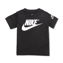 NIKE תינוקות - חולצת נייקי לוגו שחורה
