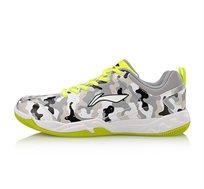 נעלי אינדור מקצועיות לגברים Li Ning Badmintom Professional Training בצבע קומופלאז