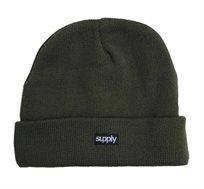 כובע גרב SUPPLY בצבע ירוק זית