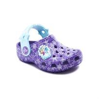 Crocs Classic Frozen Clog - כפכפי אנה ואלזה בצבע סגול