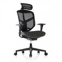 כיסא עבודה אורטופדי פרימיום Enjoy עם משענת ראש Comfort