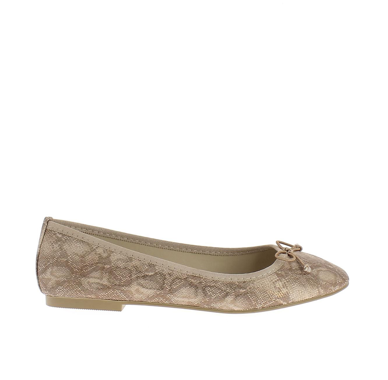 נעלי בלרינה קלאסיות MABALLERINE PARIS DANIELLE - חום מנוחש