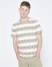 חולצת טי הדפס פסים