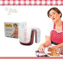"""משקל חכם למטבח מסדרת """"מותק של כלים""""- קרין גורן מבית Rosopro - משלוח חינם!"""