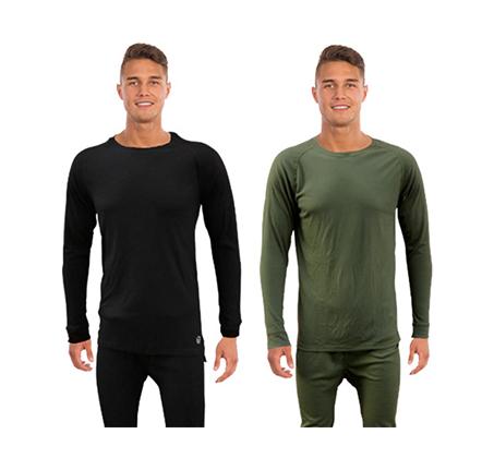 סט מכנסיים וחולצה תרמיים מנדפי זיעה לתנאי קור GO NATURE - משלוח חינם - תמונה 2