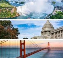 טיול מאורגן אמריקה הקסומה והקניונים הטיול המקיף החל מכ-$4910*
