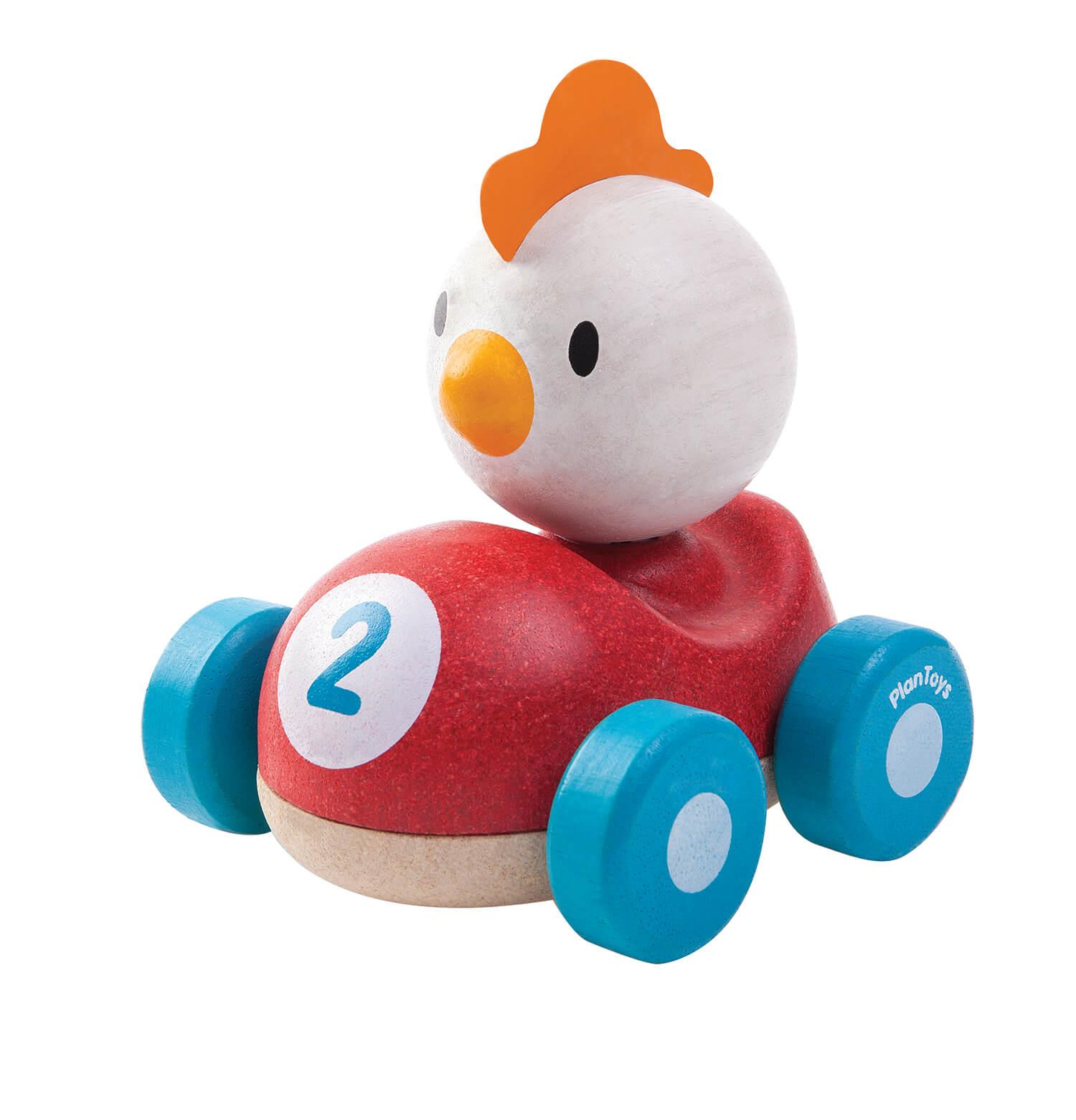 תרנגולת מרוץ - Plan Toys