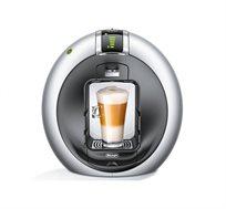 מכונת קפה Nescafe Dolce Gusto מבית DE'LONGHI דגם CIRCOLO EDG605.S בצבע כסוף