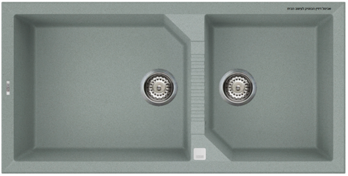 כיור מטבח תוצרת איטליה דגם Tekno 490