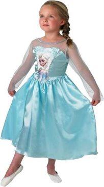 שמלה אלזה פרוזן קלאסית  לשבור את הקרח