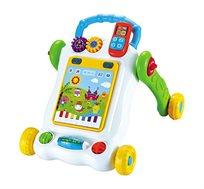 הליכון מחשב לתינוקות עם לוח משחק לפיתוח מיומנויות מוטוריות המעודדות הליכה - משלוח חינם