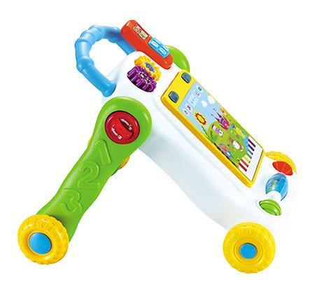 הליכון מחשב לתינוקות עם לוח משחק לפיתוח מיומנויות מוטוריות המעודדות הליכה - משלוח חינם - תמונה 3