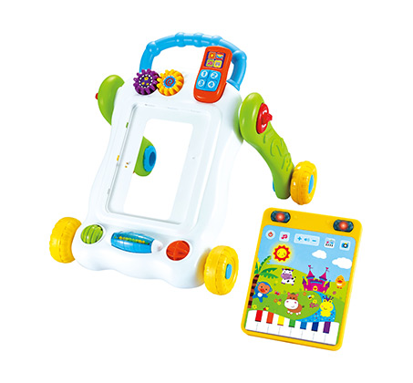 הליכון מחשב לתינוקות עם לוח משחק לפיתוח מיומנויות מוטוריות המעודדות הליכה - משלוח חינם - תמונה 2