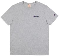 CHAMPION יוניסקס// CREWNECK T-SHIRT GREY