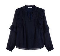 חולצת מלמלה בעיטור נוצץ Promod לנשים בשני צבעים לבחירה