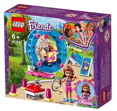 אוגר משחקים של אולביה משחק לילדים Friends