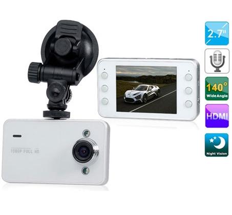 מצלמת רכב שימושית 1080P כולל צג