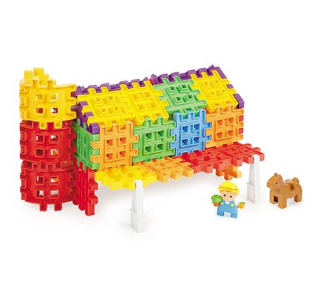 משחק הרכבה וופלים Waffle blocks farm מבית Little Tikes - משלוח חינם - תמונה 3