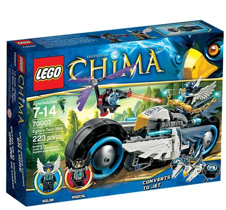 מפואר אופנוע מקטגוריית צ'ימה מבית LEGO - דגם 70007! IA-97