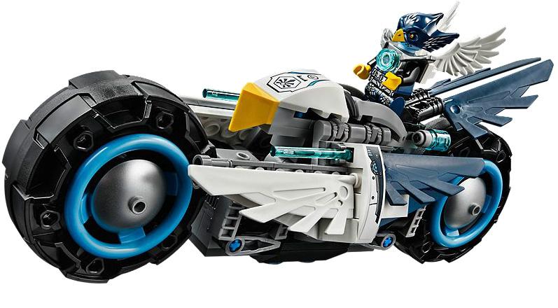 פנטסטי אופנוע מקטגוריית צ'ימה מבית LEGO - דגם 70007! TE-86