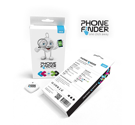 PHONE FINDER כפתור מהפכני למציאת הטלפון