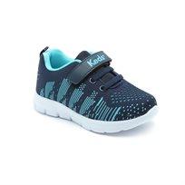 Keds - נעלי סניקרס סרוגות בשילוב כחול כהה ותכלת