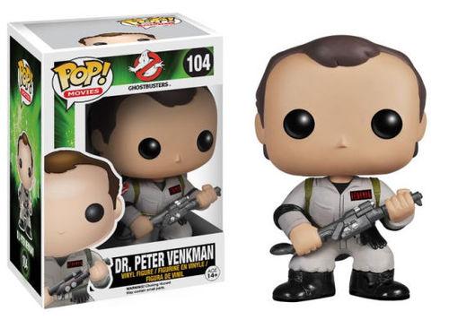 Funko Pop -Dr. Peter Vankman (Ghostbusters) 446  בובת פופ