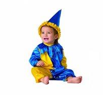 תחפושת לתינוקות ליצן בשני צבעים לבחירה