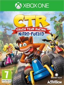 Ctr Crash Team Racing: Nitro Fueled Xbox One אירופאי!