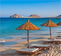"""חבילת טיסות ומלון למיקונוס ל-3,4 או 7 לילות ע""""ב ארוחת בוקר החל מכ-€705*"""
