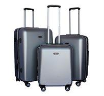 סט 3 מזוודות קשיחות בגדלים שונים דגם אטלנטיס סוויס