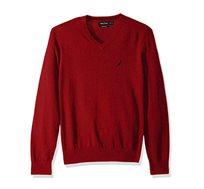 סוודר נאוטיקה לגבר דגם S831006NR - אדום