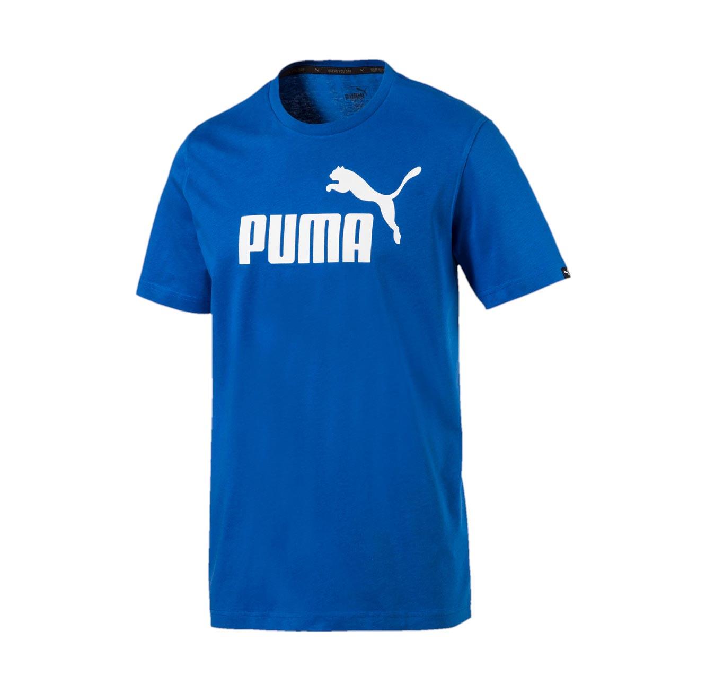 חולצה קצרה לגברים PUMA ESS No.1 Tee - כחול