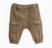 """מכנסי דגמ""""ח OVS לתינוקות וילדות - ירוק חאקי"""