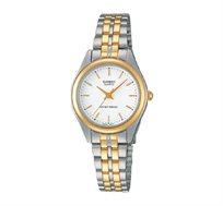 שעון יד אנלוגי קלאסי - זהב וכסף
