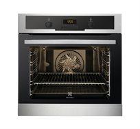 תנור אפיה בנוי פירוליטי בגימור נירוסטה דגם EOC5410AOX תוצרת גרמניה אחריות יבואן רישמי