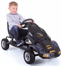 מכונית באגי לילדים עם פדלים באטמוביל Batmobile