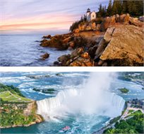 11 ימי טיול לנוסע העצמאי בקנדה וניו אינגלנד + טיסות + לינה + רכב רק בכ-$1965*