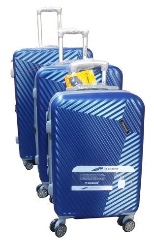 סט 3 מזוודות 4 גלגלים קשיחות  מתרחבות בעצוב יחודי Diplomat
