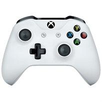 זוג שלטים עבור קונסולה Xbox one, בצבע לבן + מטען SparkFox מתנה ל2 שלטים