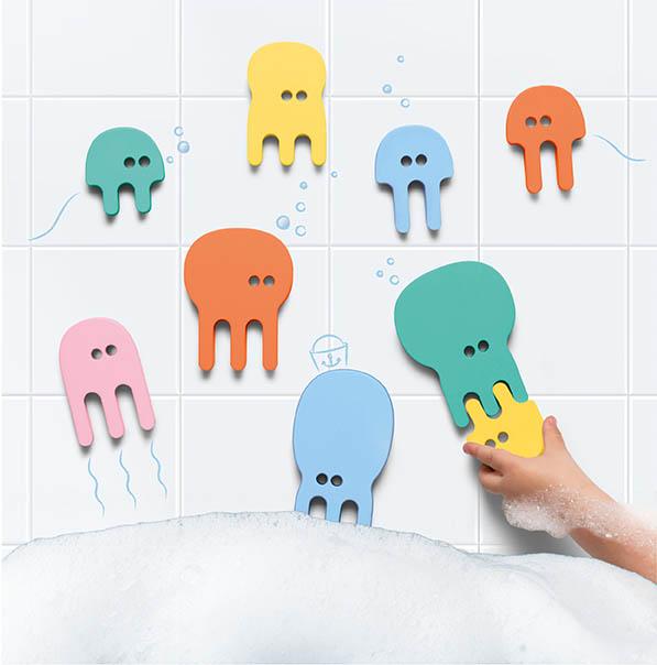 פאזל לאמבטיה - מדוזות - חדש!