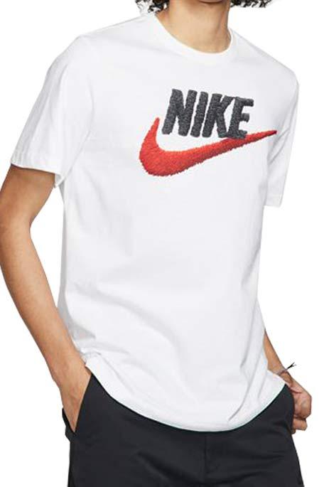 חולצת טי שירט לגברים - לבן